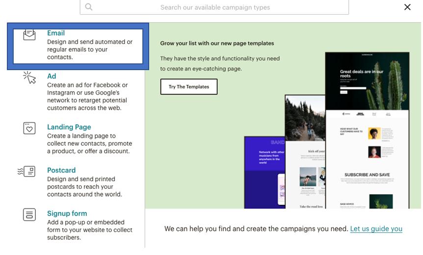 postavljanje-newsletter-kampanje